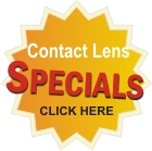 Contact lens specials at Stein Optometric Center in Burbank & Manhattan Beach